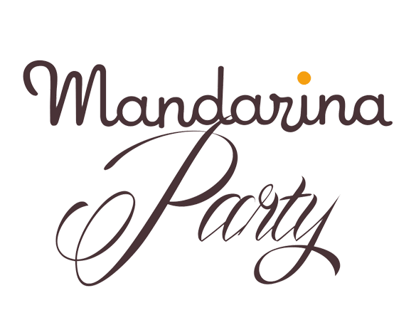 Logo Mandarina Party